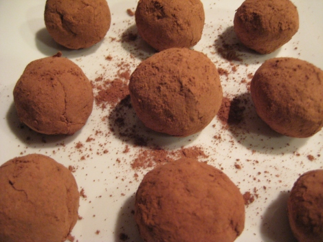 Chocolate and Pecan Truffles